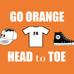 September 28 Go Orange to Support the Fight Against Hunger